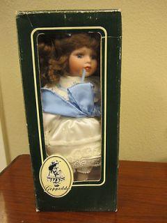 NIB Vintage Geppeddo Porcelain Doll 11B968