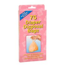 Home Health & Personal Care Baby & Children Disposable Diaper Bags, 75