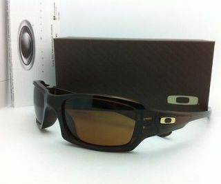 Authentic Oakley Sunglasses FIVES SQUARED 03 442 Rootbeer w/ dark