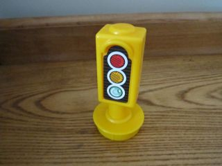 Fisher Price Little People City Village Town Main Street traffic light