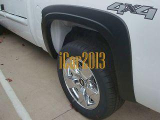 2007 2011 CHEVY SILVERADO 1500 FENDER FLARES FACTORY STYLE CREW CAB