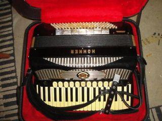 1956 Hohner Arcari Gola Double Tone Chamber LMMH Accordion Akkordeon