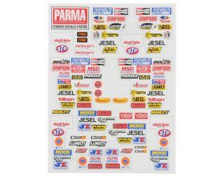 Parma PSE Stock Car Fender Decal Sheet [PAR10788]  Stickers & Decals