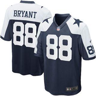 Mens Nike Dallas Cowboys Dez Bryant Game Throwback Jersey