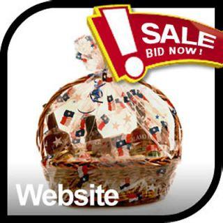 Established Gift Basket, Gourmet Gifts, Hampers Gift Website Business