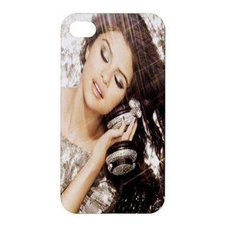 SELENA GOMEZ iPhone 4 / 4S Hard Plastic Case Cover HOT 2012