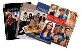 Gossip Girl DVD TELEVISION SERIES SEASONS 1,2,3,4,5.  NEW