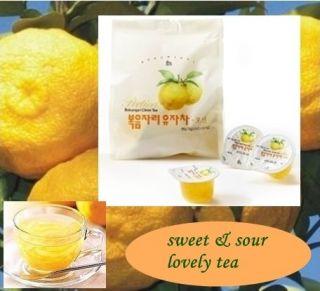Shop] Korean Tea Japaneses Favorite Yuzu Citron Tea Portion 15 cups