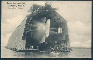 Germany Graf Zeppelin Pioneer Model 4 Water Hangar Dirigible Airship
