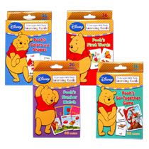 Home Toys, Games & Activities Educational Winnie The Pooh Flash Cards