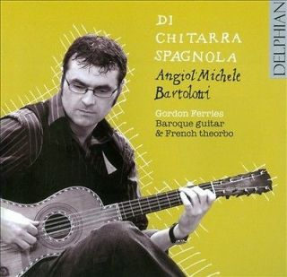 ANGELO MICHELE BARTO   DI CHITARRA SPAGNOLA   NEW CD