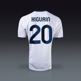 adidas Gonzalo Higuain Real Madrid Home Jersey 12/13  SOCCER