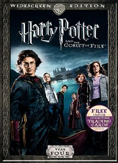 Harry Potter and the Goblet of Fire DVD, 2007, Widescreen Includes