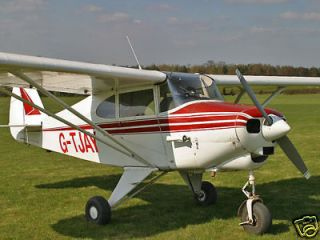 Giant 1/4 Scale Piper PA 22 Tri Pacer Plans &Templates