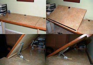 ... Adjustable Drafting Table Hardware Reviews Rockler Woodworking Tools ...