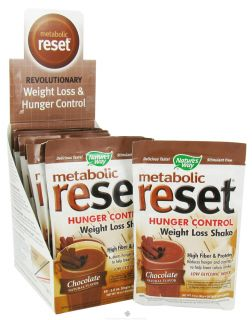 Buy Natures Way   Metabolic Reset Hunger Control Weight Loss Shake