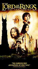 The Lord of the Rings The Two Towers (VHS, 2003)   B