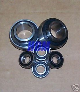 Racing Go Kart cart 5/8 front hub & 1 1/4 Rear Axle chassis Bearings