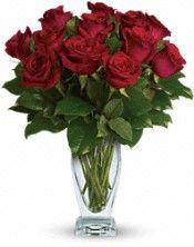 Telefloras Rose Classique   Dozen Red Roses Flowers