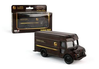 UPS United Parcel Service Delivery Truck 1/55 Scale Diecast Mint in