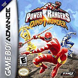 Power Rangers DinoThunder Nintendo Game Boy Advance, 2004