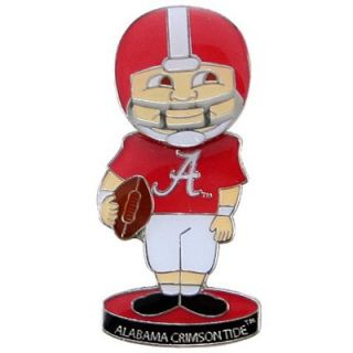 Alabama Crimson Tide Bobblehead Football Player Pin   FootballFanatics