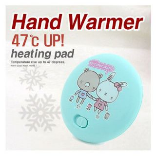 Winter Cold Outdoor Rechargeable Portable Hand Warmer Heating Pad S/B