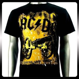 AC/DC Angus Young Heavy Metal Rock Music T shirt Sz M A28