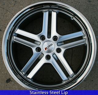 PETROL REACH 18 H SILVER RIMS WHEELS INFINITI M35 06 up / 18 X 8.0 5H