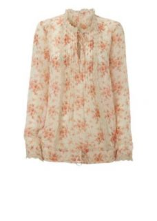 Home Womens Blouses & Shirts Falmer Chiffon Floral Blouse