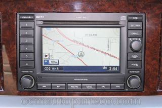 2005 2004 DODGE DURANGO MAGNUM 6 CD PLAYER RADIO GPS NAVIGATION SYSTEM