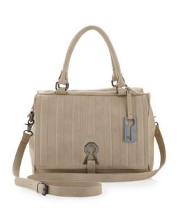 Handbags by Romeo & Juliet Couture Kaylie Satchel Bag, Linen