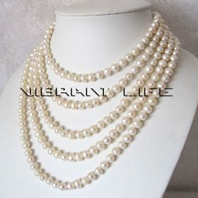 fresh water pearl necklace in Fashion Jewelry
