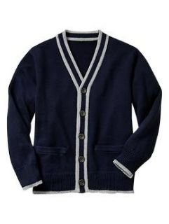 Tipped button front cardigan  Gap   Free Shipping on $50