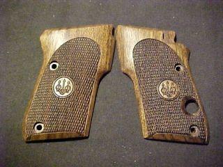 3032 Tomcat Alleycat Fine Walnut Pistol Grips w/Logos Beautiful NEW