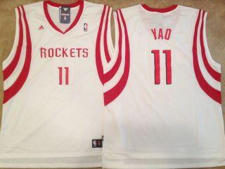 Yao Ming Houston Rockets Swingman Mens Sewn Jersey White NWT