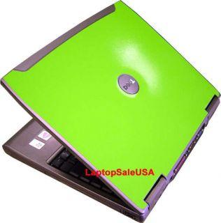 LIME GREEN DELL LATITUDE D600 Laptop Vinyl Skin Cover