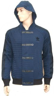 ADIDAS ORIGINALS RETRO TREFOIL SY HOODY TRAINING TRACK TOP, TRACKSUITS