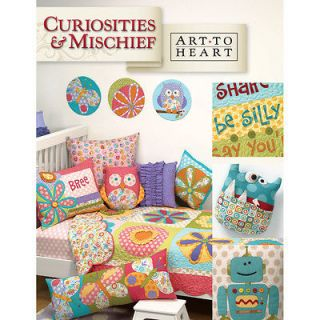 CURIOSITIES & MISCHIEF by Nancy Halvorsen Art To Heart Quilting