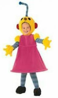 NEW Disney Rolie Polie Olie Robot Girl Zowie Zoe Deluxe Costume Girls