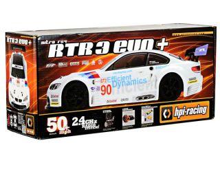 HPI Nitro RS4 3 EVO+ RTR w/BMW M3 Body & 2.4GHz Radio [HPI105936]  RC