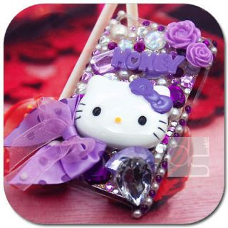Hello Kitty Bling Hard Skin Case iPod Touch iTouch 4G 4th Generation