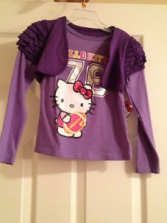 Hello Kitty Purple Long Sleeve Shirt