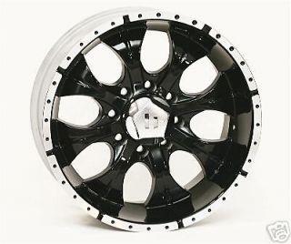 16 inch black HELO Wheels/rims Chevy Dodge GM 8 Lug