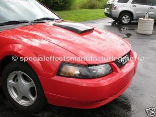 Ford Mustang Hood Scoop 99 04 REVERSE COWL Hood PRIMED