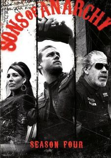 Sons of Anarchy The Complete Fourth Season 4 (DVD, 2012, 4 Disc Set)