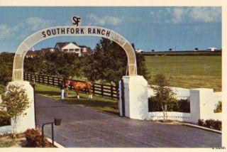 DUNCAN RANCH SOUTHFORK DALLAS TV PLANO, TX