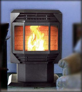 Bay Front Wood Pellet Stove Heater Furnace Fireplace   SEALED BOX