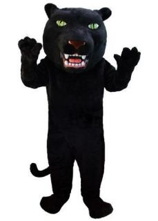 BLACK PANTHER THERMO LITE MASCOT HEAD Costume Prop
