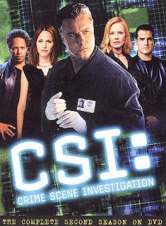 CSI Crime Scene Investigation   The Complete Second Season DVD, 2003